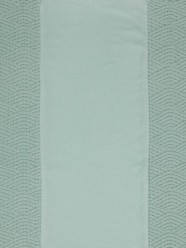Afbeelding Aankleedkussenhoes 50x70cm River Knit ash green