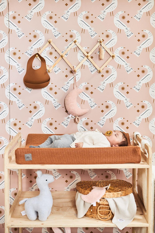 Afbeelding Jollein Aankleedkussenhoes 50x70cm Basic knit I caramel
