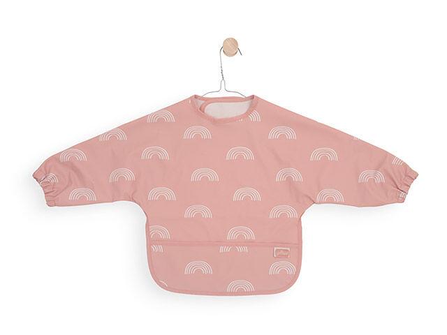 Afbeelding Jollein Slab Waterproof met mouw Rainbow I blush pink