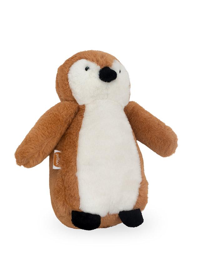 Afbeelding Knuffel Pinguin caramel