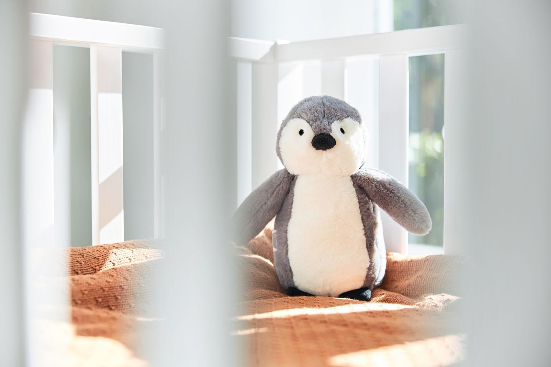 Afbeelding Knuffel Pinguin storm grey