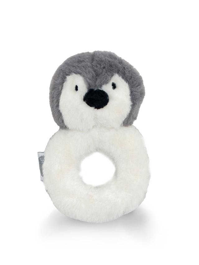 Afbeelding Rammelaar Pinguin storm grey