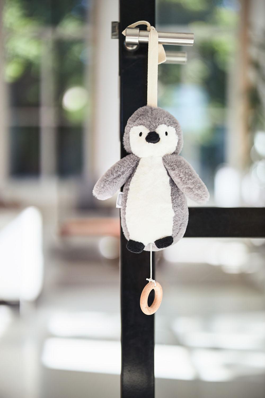 Afbeelding Muziekhanger Pinguin storm grey