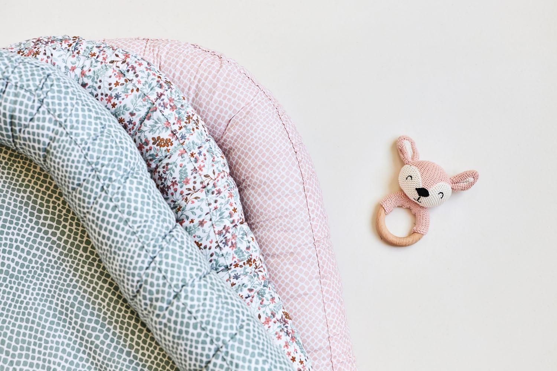 Afbeelding Babynest Snake pale pink