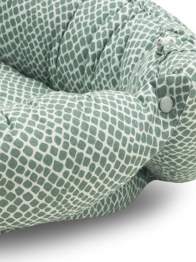 Afbeelding Babynest Snake ash green
