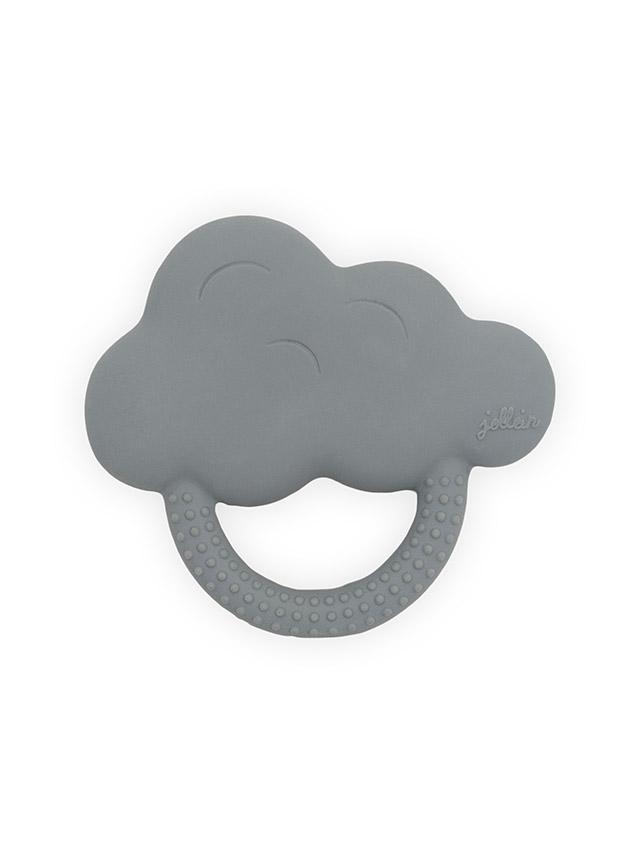 Afbeelding Bijtring Rubber Cloud storm grey