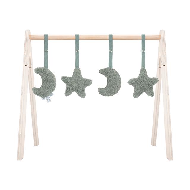 Afbeelding Babygym Toys Moon ash green