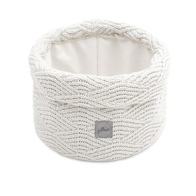 Afbeelding Mandje River Knit cream white