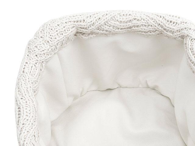 Afbeelding Jollein Mandje River Knit I cream white