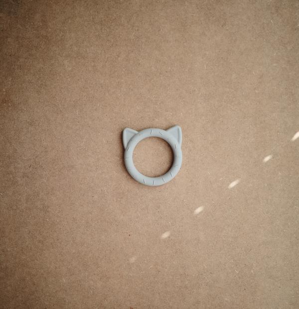 Afbeelding Bijtring Cat Stone