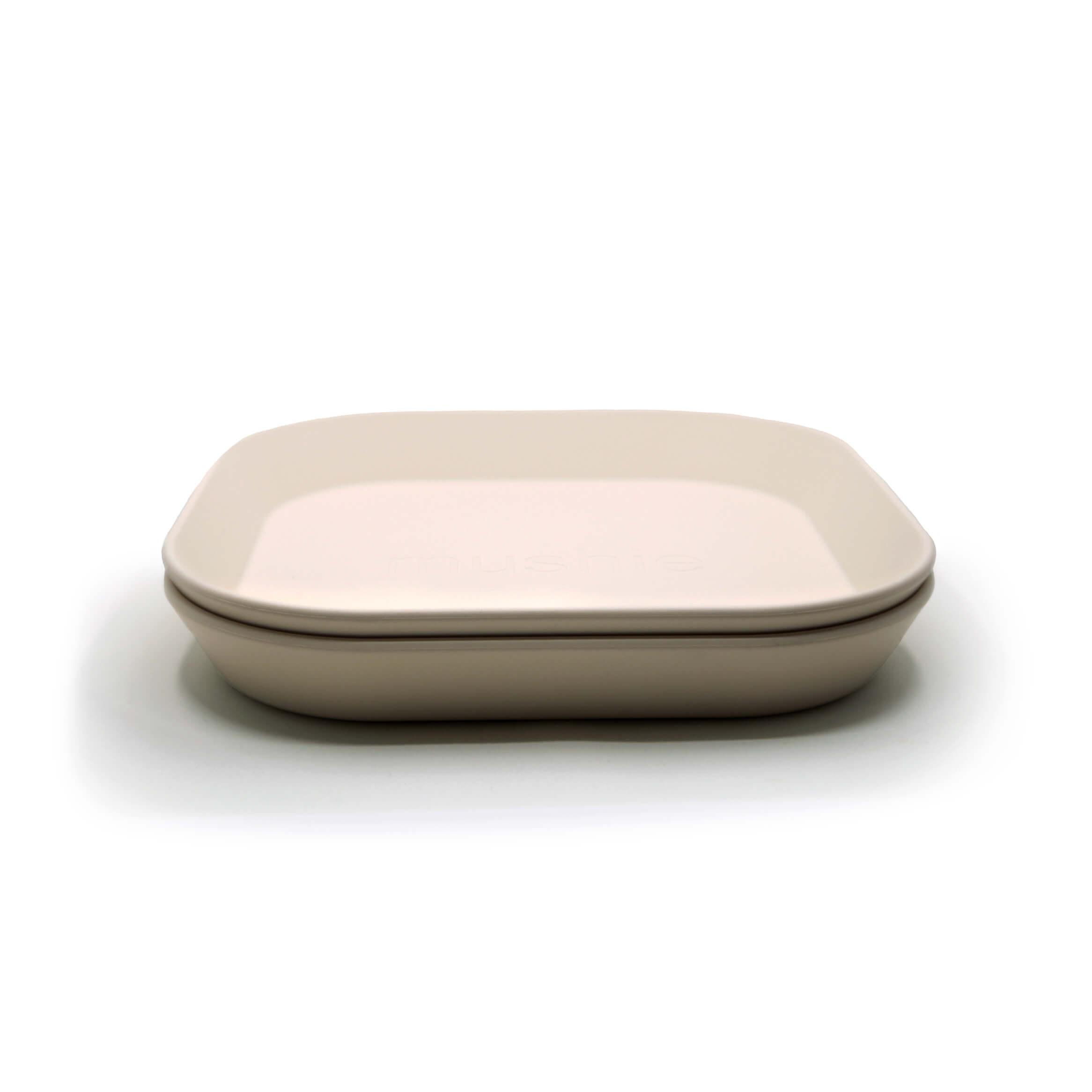 Afbeelding Set van 2 borden I Ivory