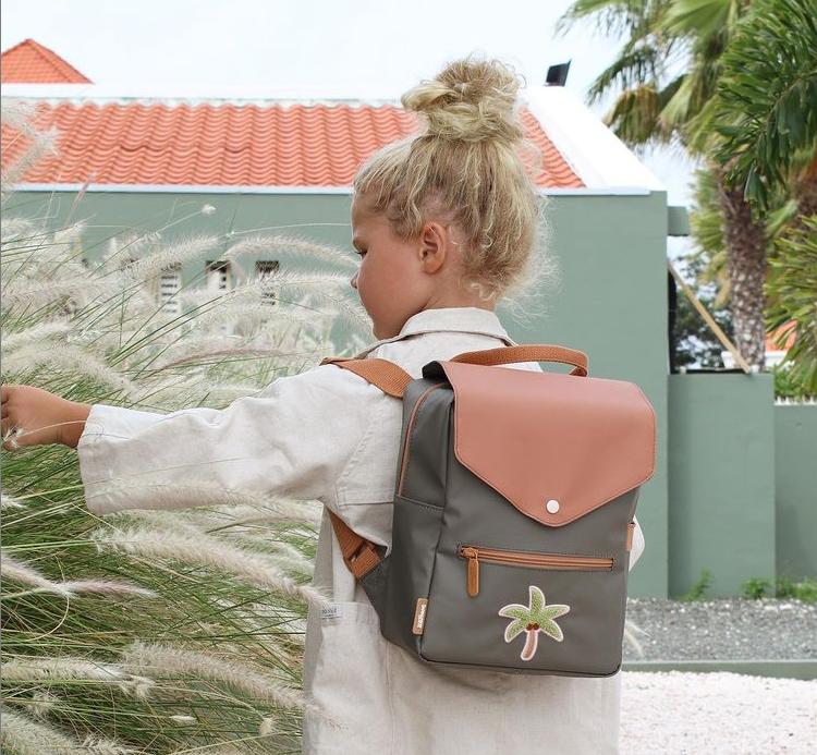 Afbeelding Rugzak met tropisch Patch – Palm Tree
