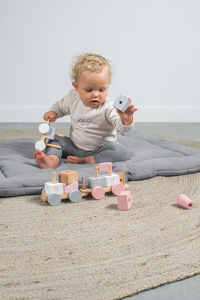 Afbeelding Speelgoedtrein white/pink