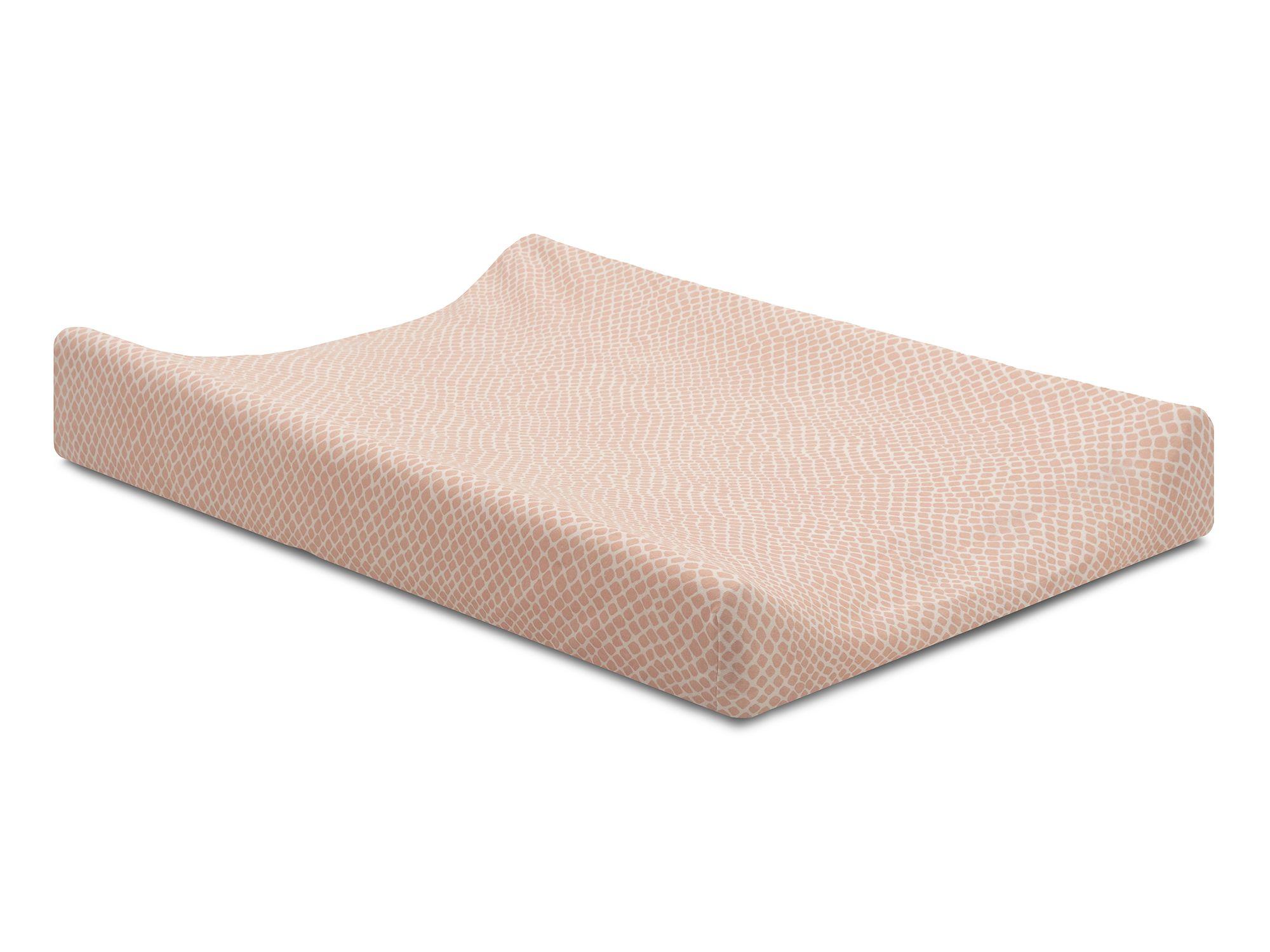 Afbeelding Aankleedkussenhoes jersey 50x70cm Snake pale pink