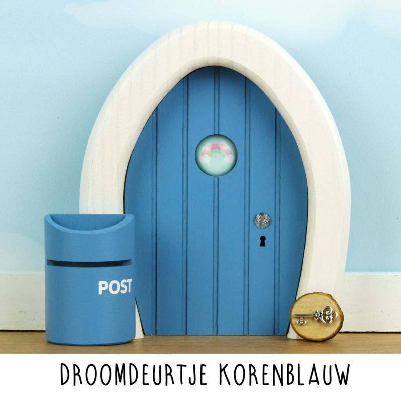 Afbeelding Droomdeurtje – Korenblauw