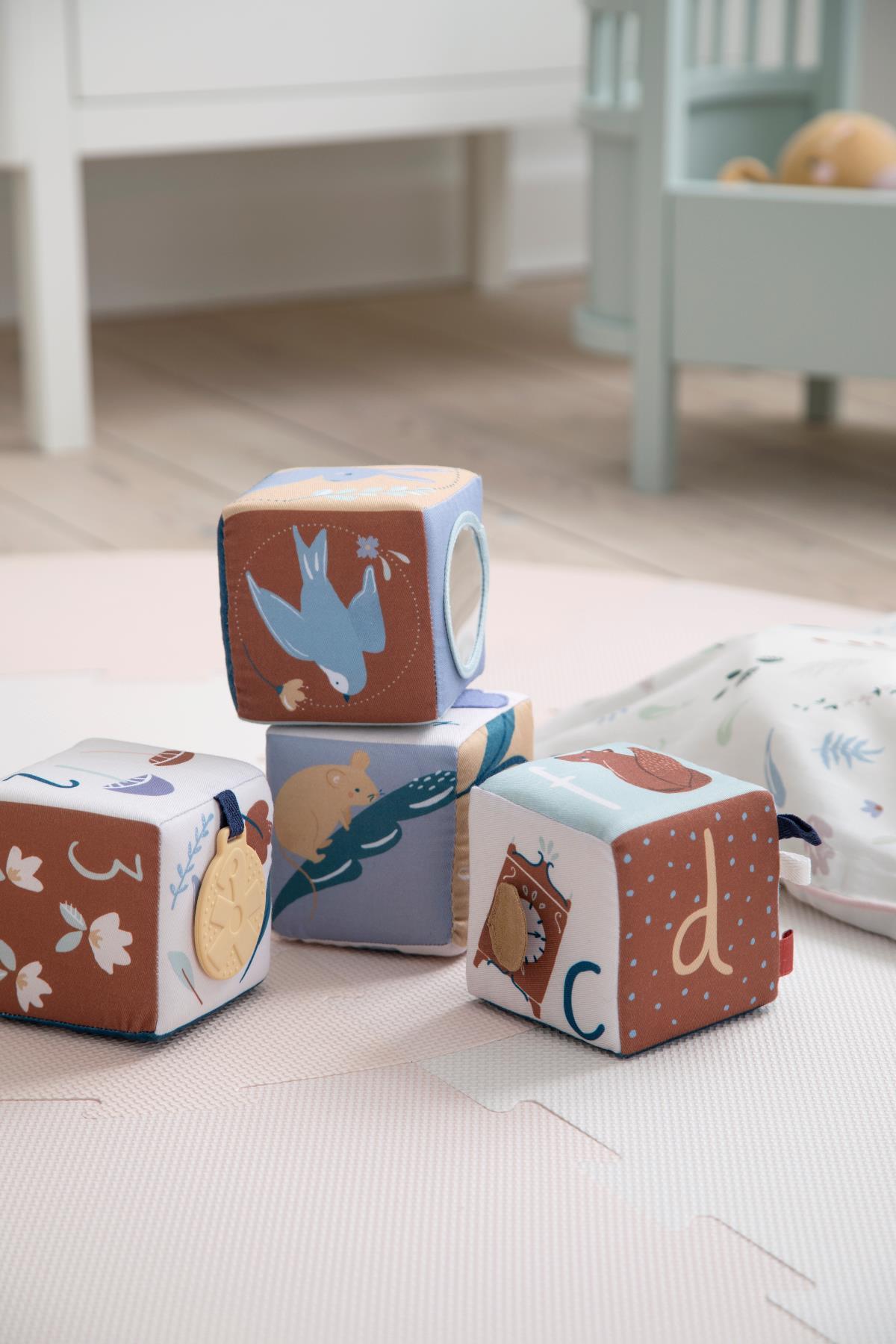 Afbeelding Stoffen blokken voor baby's Daydream