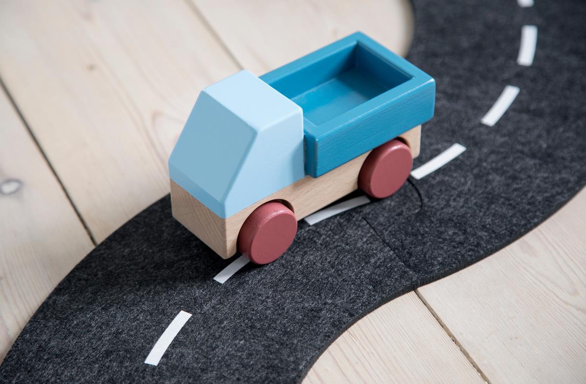 Afbeelding Vrachtwagen in hout