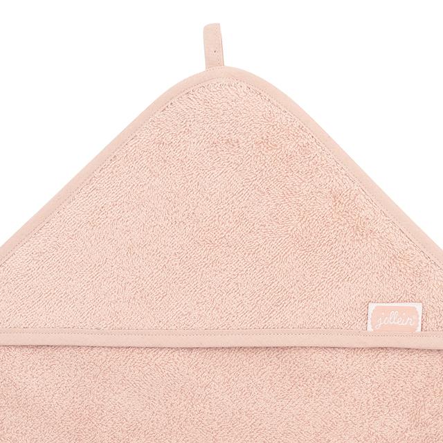 Afbeelding Jollein Badcape badstof 75x75cm I pale pink