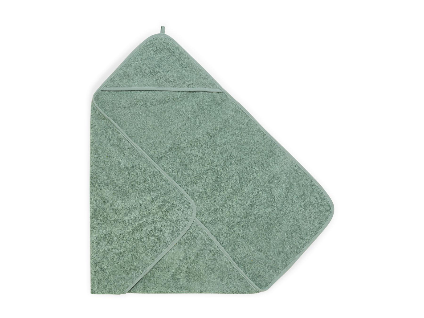 Afbeelding Jollein Badcape badstof 75x75cm I ash green