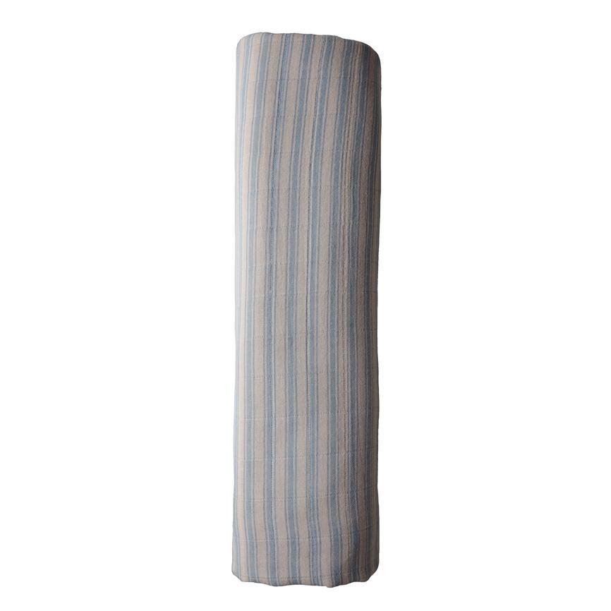 Afbeelding Hydrofiele doek – Blue stripes