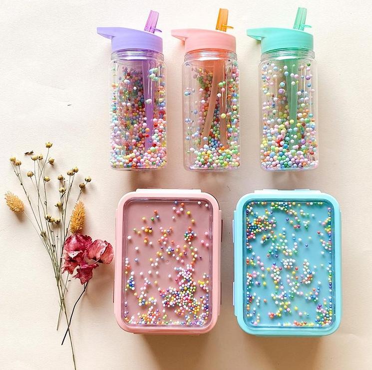 Afbeelding Drinkfles Marcaron – Pops lila