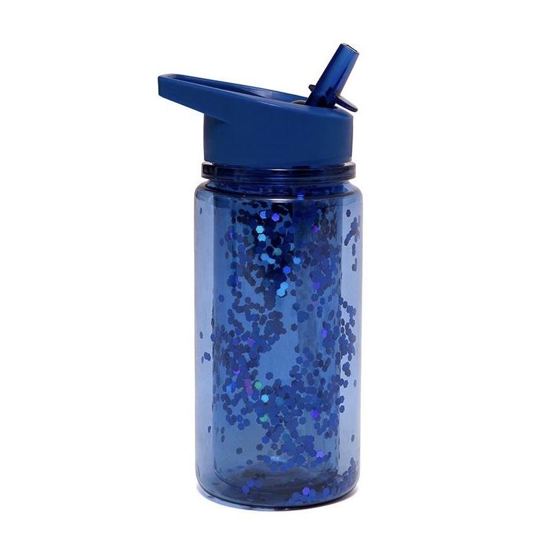 Afbeelding Drinkfles glitter – Nachtblauw