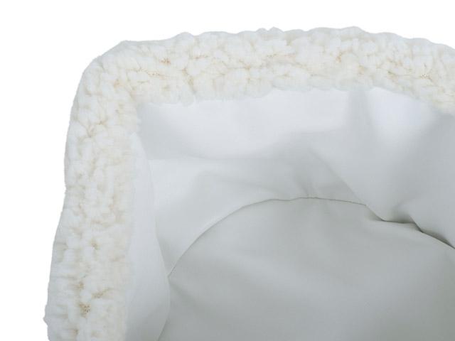 Afbeelding Opbergmandje teddy Cream white