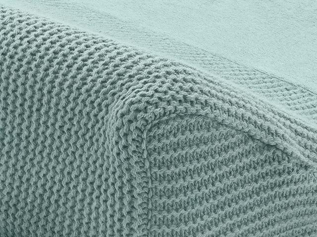Afbeelding Jollein Aankleedkussenhoes 50x70cm Basic knit I forest green