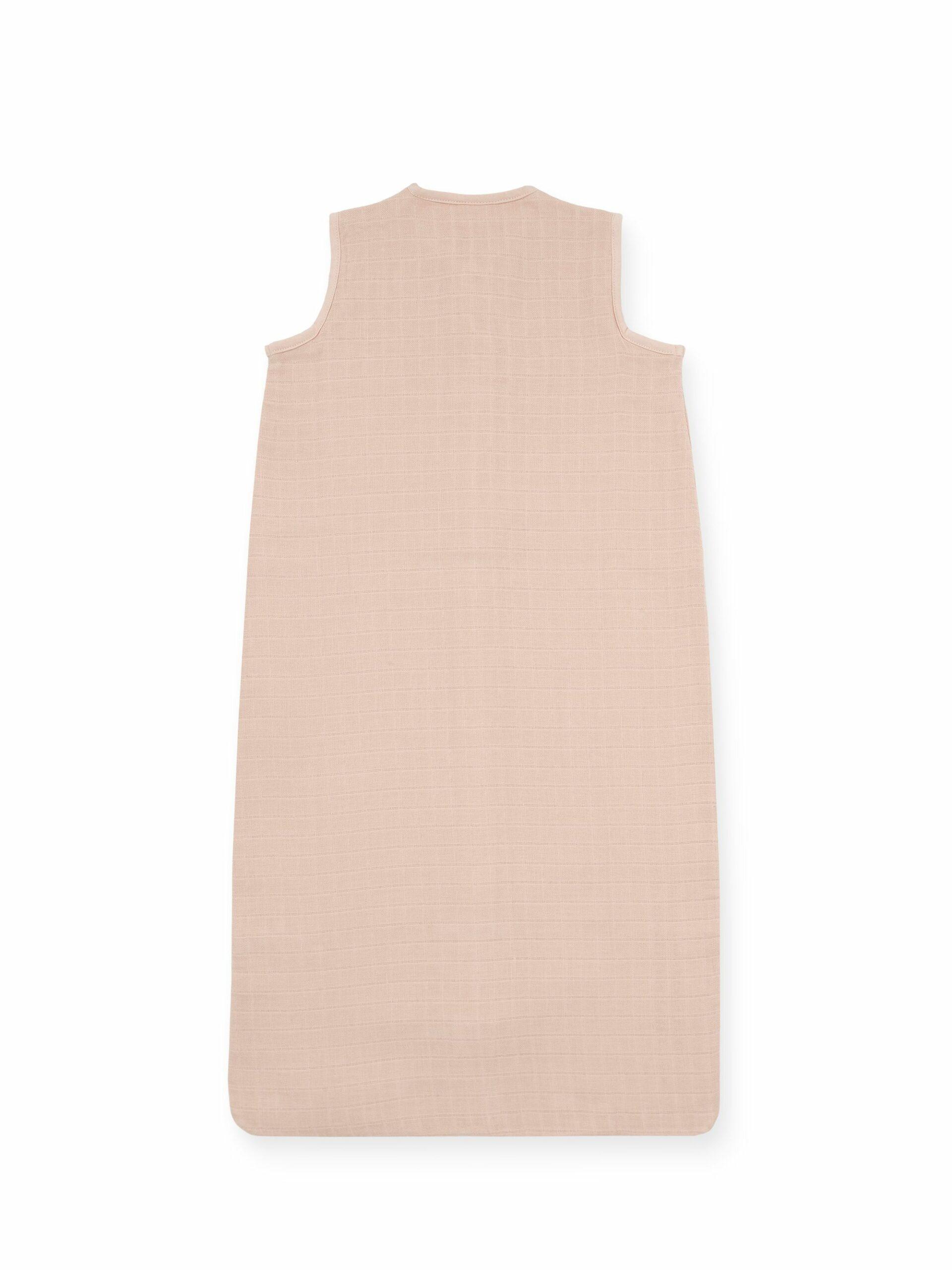 Afbeelding Slaapzak zomer hydrofiel 110cm – Pale pink