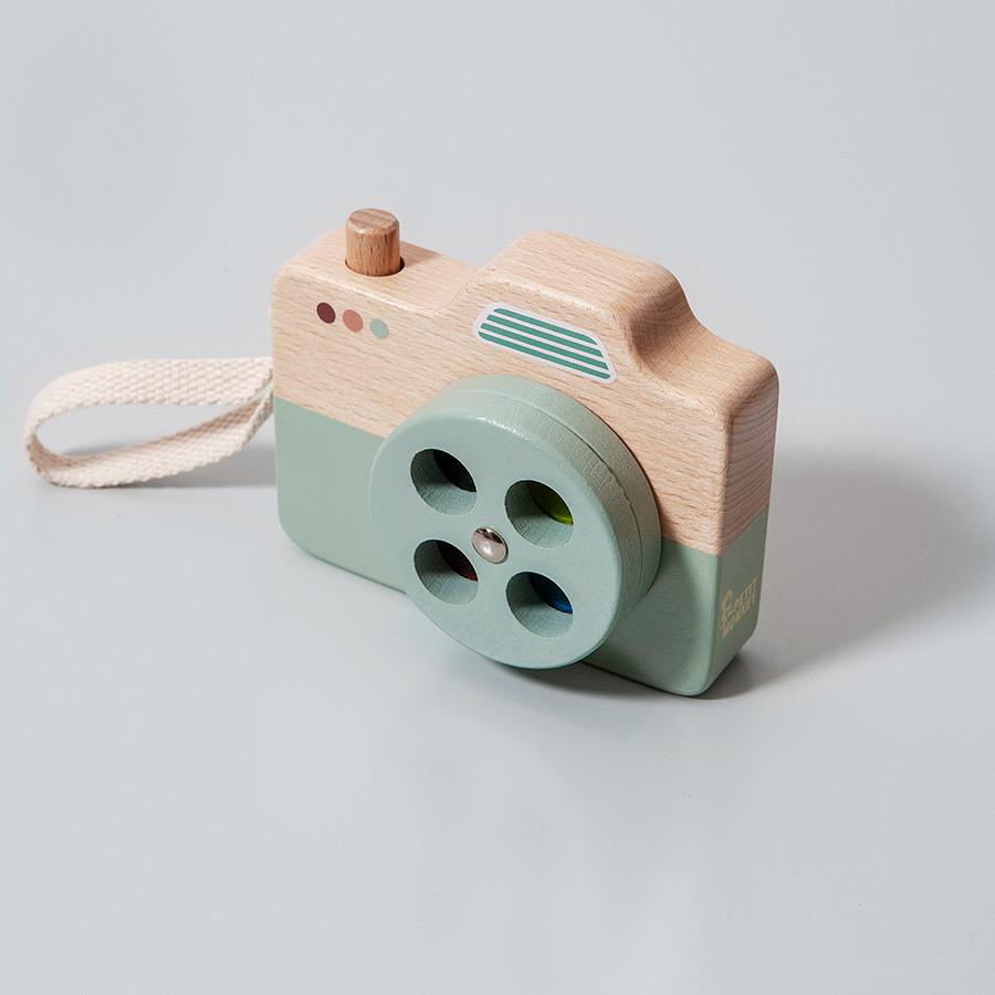 Afbeelding Houten camera