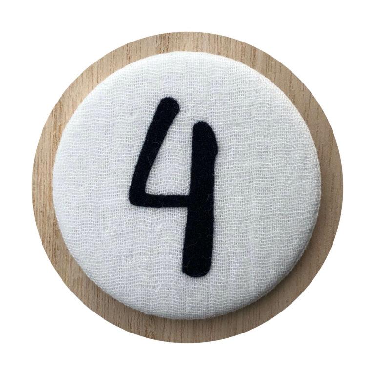 Afbeelding Liezelijn verjaardagskroon I Extra cijfers I Blauw 3-6y