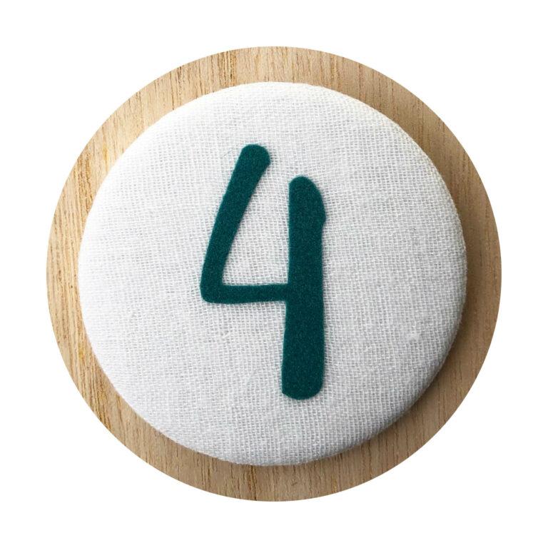 Afbeelding Liezelijn verjaardagskroon I Extra cijfers I Groen 3-6y