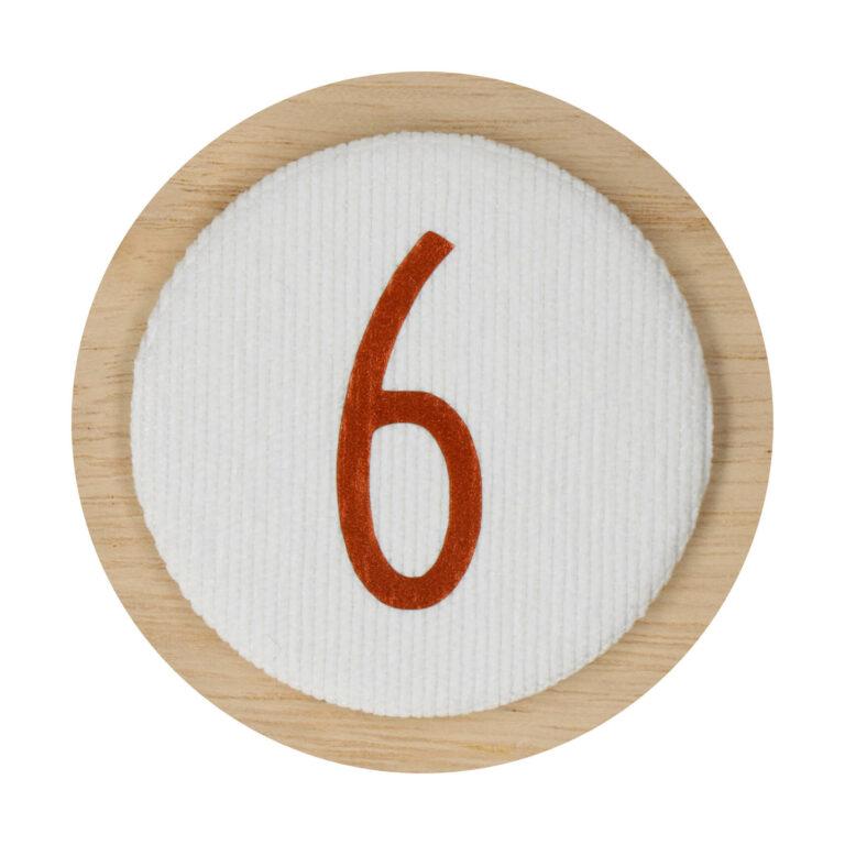 Afbeelding Liezelijn verjaardagskroon I Extra cijfers I Koper 3-6y