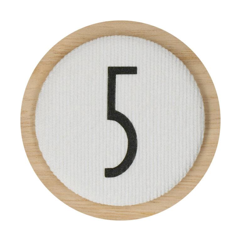 Afbeelding Liezelijn verjaardagskroon I Extra cijfers I Olijf 3-6y