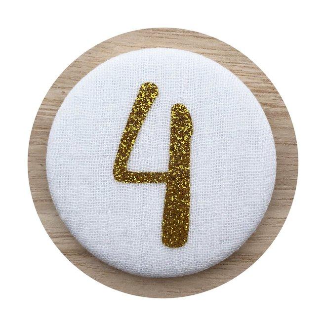 Afbeelding Liezelijn verjaardagskroon I Extra cijfers Goud 3-6y