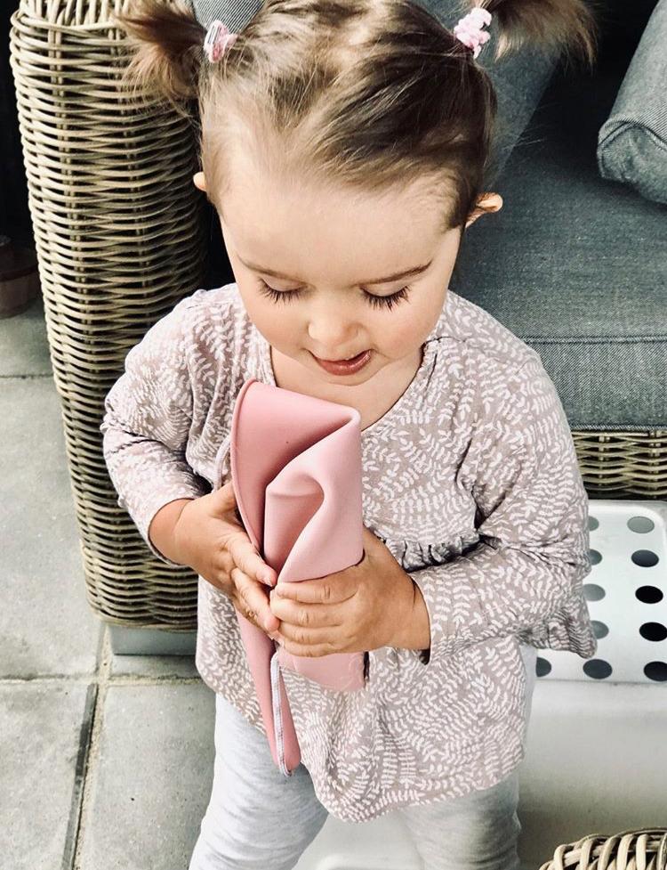 Afbeelding Scrunch emmer I Oud roze