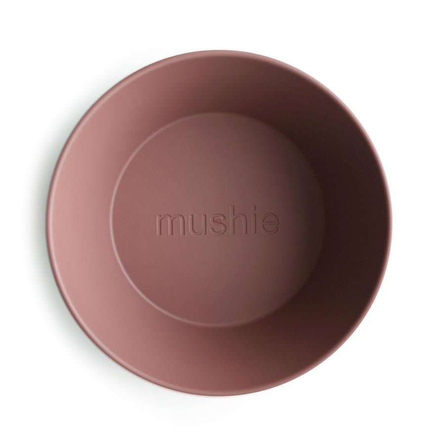 Afbeelding Mushie Set van 2 kommetjes I Woodchuck