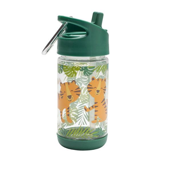Afbeelding SugarBooger Flip & Sip drinkfles I Tiger
