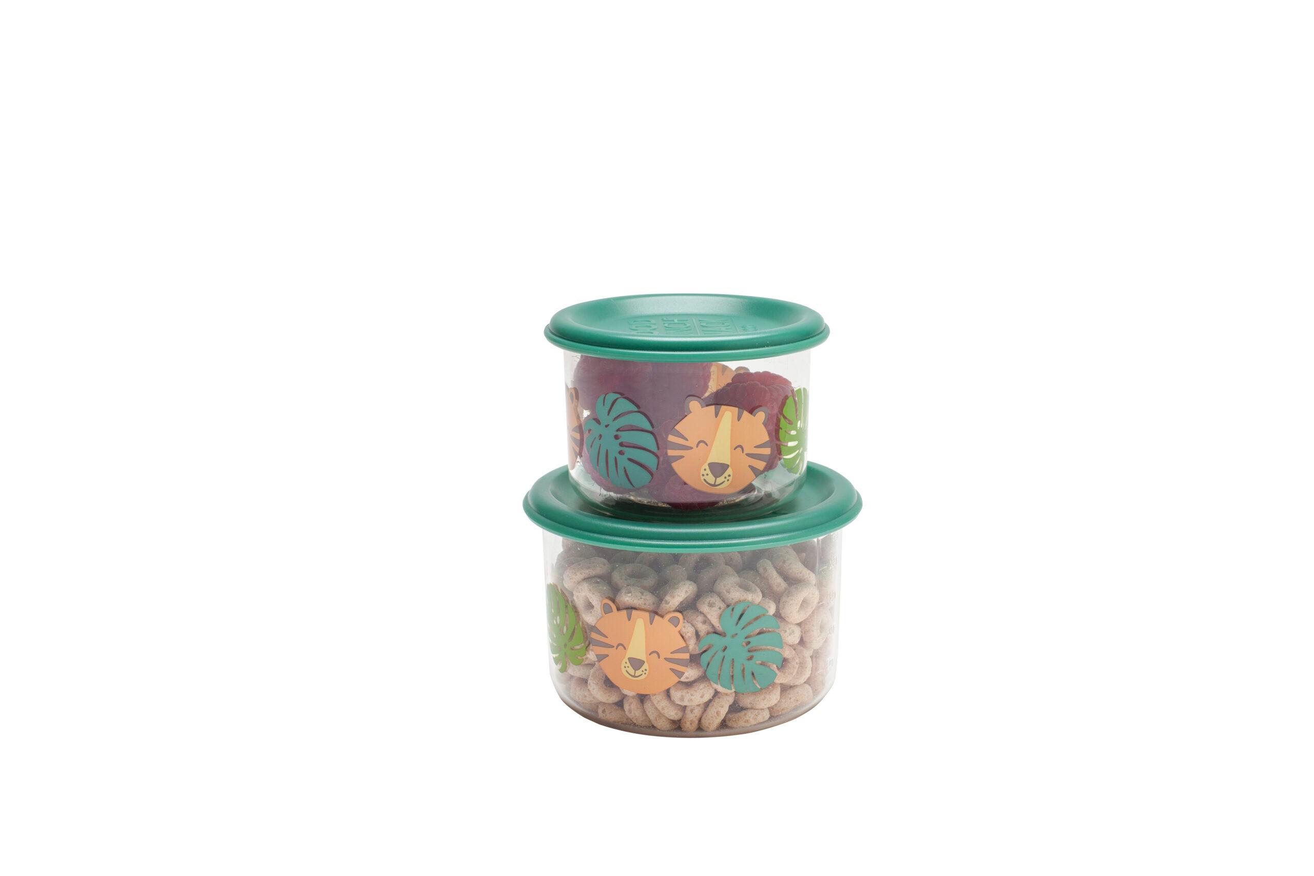 Afbeelding Sugarbooger set van 2 snackdozen I Tiger