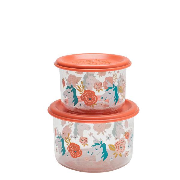 Afbeelding SugarBooger set van 2 snackdozen I Unicorn