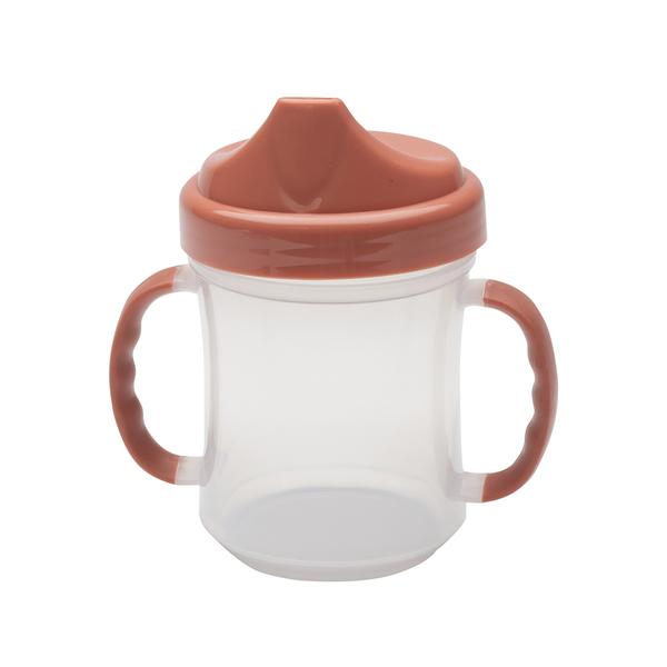 Afbeelding SugarBooger drinkbeker met handvaten I Rose