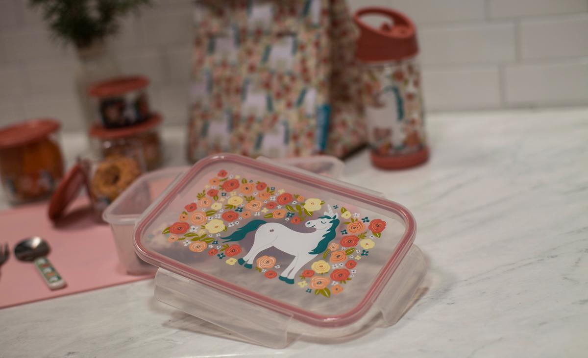 Afbeelding SugarBooger lunchbox I Unicorn