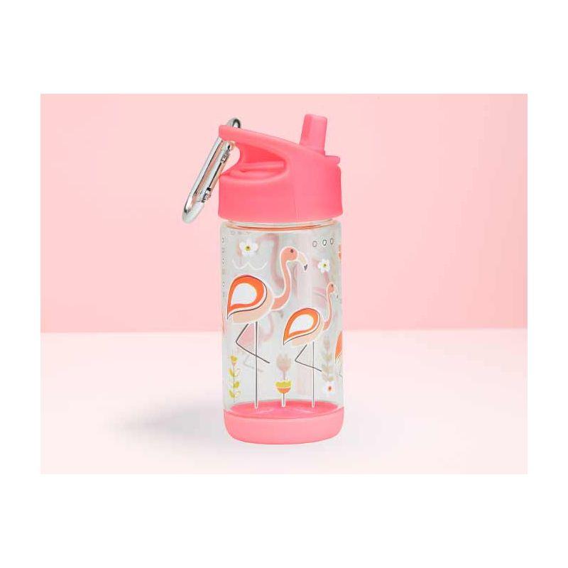 Afbeelding SugarBooger Flip & Sip drinkfles I Flamingo