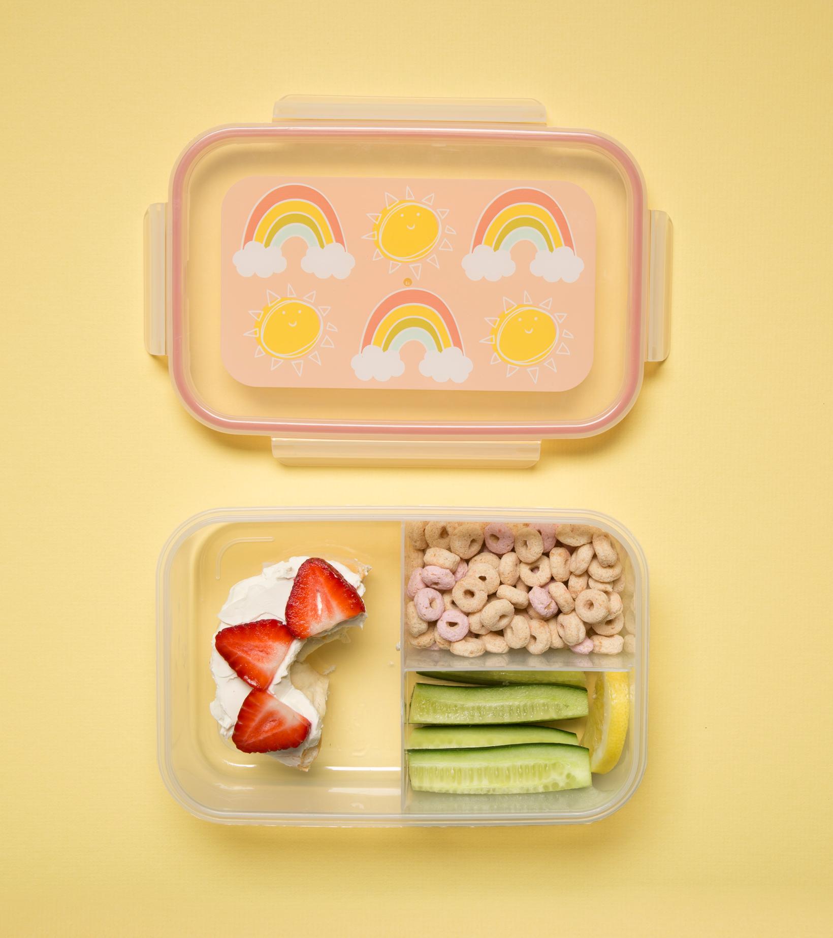 Afbeelding SugarBooger lunchbox I Rainbow