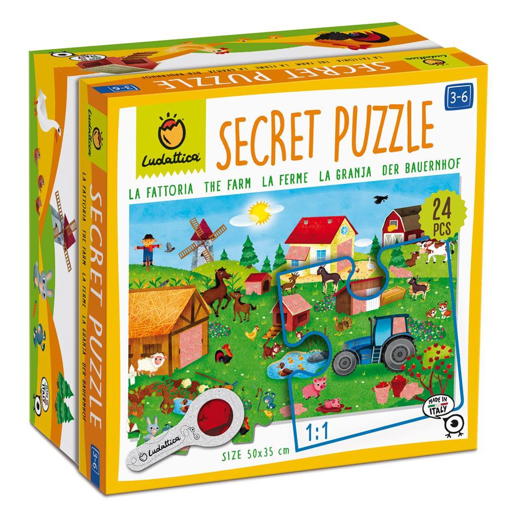 Afbeelding Ludattica Secret puzzel I Boerderij