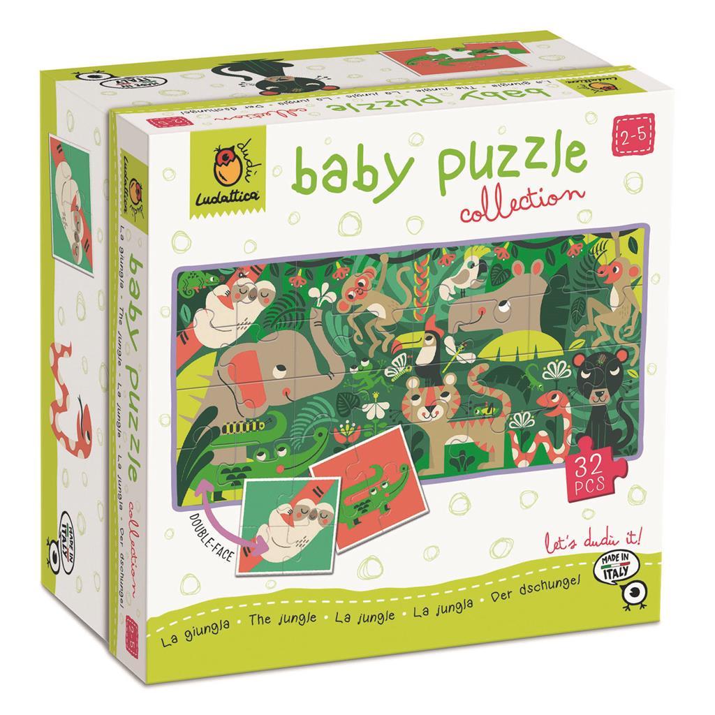 Afbeelding Ludattica Baby puzzel I De Jungle