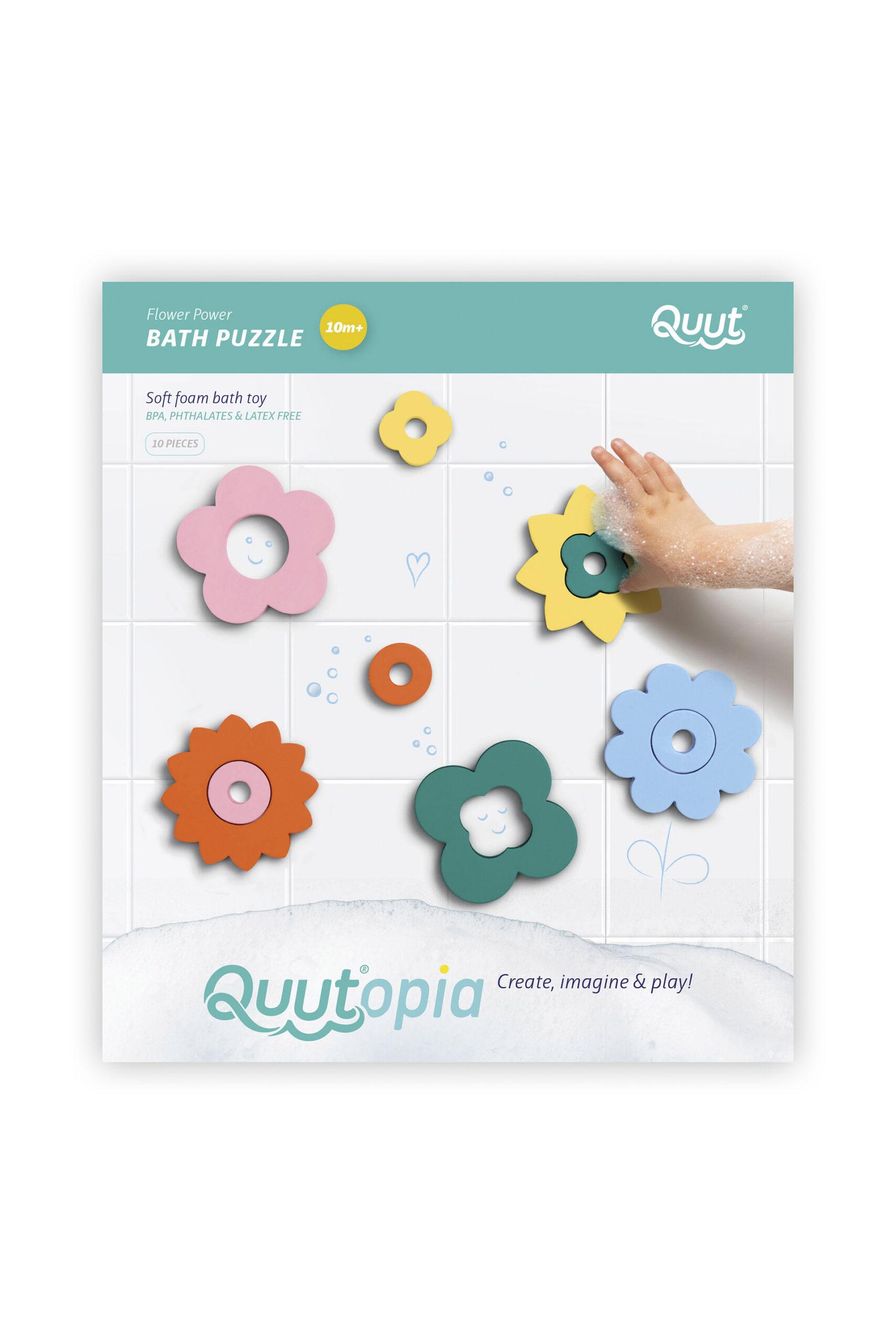 Afbeelding Quutopia badpuzzel I Flower Power