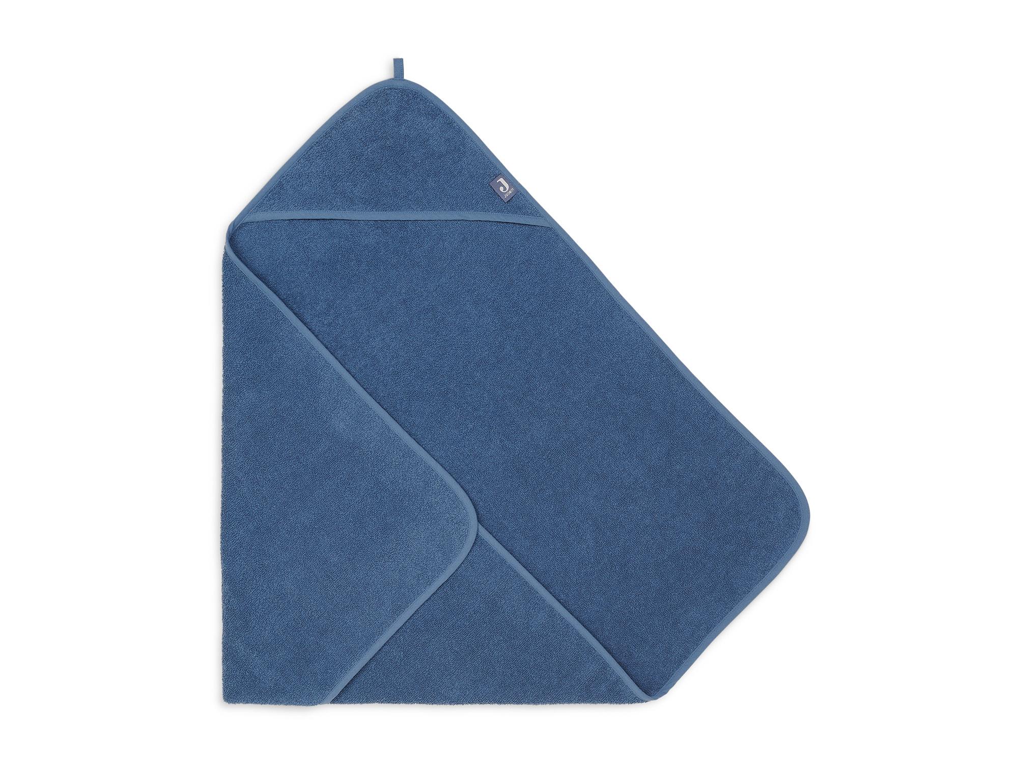 Afbeelding Jollein Badcape badstof 75x75cm I Jeans blue