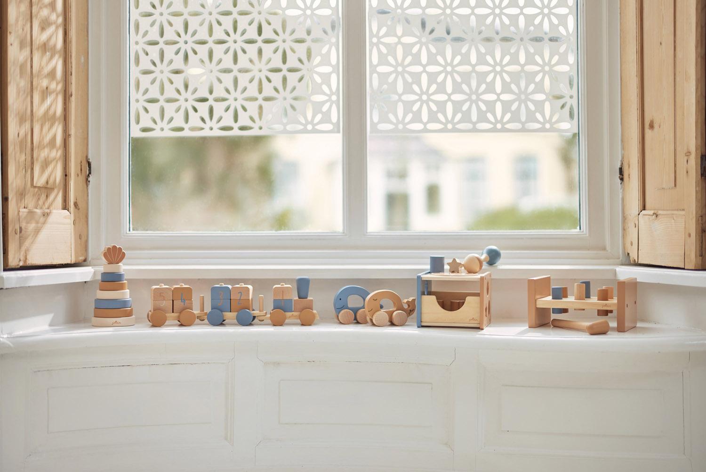 Afbeelding Jollein Houten speelgoedauto I Sea animal caramel