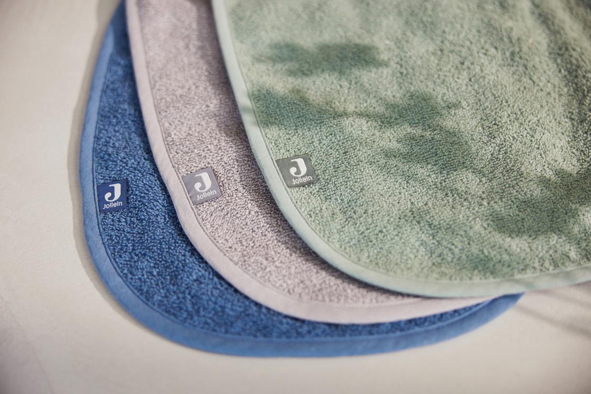 Afbeelding Jollein Set van 3 slabbetjes badstof I ash green/Storm grey/Jeans Blue
